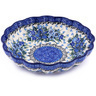 7-inch Stoneware Scalloped Bowl - Polmedia Polish Pottery H0722G