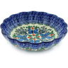 7-inch Stoneware Scalloped Bowl - Polmedia Polish Pottery H2200B