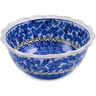 7-inch Stoneware Scalloped Bowl - Polmedia Polish Pottery H3671L