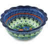 7-inch Stoneware Scalloped Bowl - Polmedia Polish Pottery H4222H