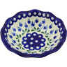 7-inch Stoneware Scalloped Bowl - Polmedia Polish Pottery H4481G