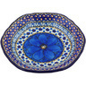 7-inch Stoneware Scalloped Bowl - Polmedia Polish Pottery H4494G