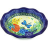 7-inch Stoneware Scalloped Bowl - Polmedia Polish Pottery H5290G