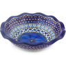 7-inch Stoneware Scalloped Bowl - Polmedia Polish Pottery H5577G