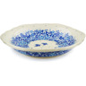 7-inch Stoneware Scalloped Bowl - Polmedia Polish Pottery H8572J