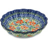 7-inch Stoneware Scalloped Bowl - Polmedia Polish Pottery H9837K