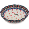 7-inch Stoneware Scalloped Bowl - Polmedia Polish Pottery H9838K