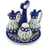 7-inch Stoneware Seasoning Set - Polmedia Polish Pottery H0662H