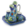 7-inch Stoneware Seasoning Set - Polmedia Polish Pottery H6936K
