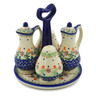 7-inch Stoneware Seasoning Set - Polmedia Polish Pottery H6950K