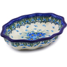 7-inch Stoneware Serving Bowl - Polmedia Polish Pottery H0871I