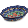 7-inch Stoneware Serving Bowl - Polmedia Polish Pottery H2180K
