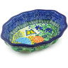 7-inch Stoneware Serving Bowl - Polmedia Polish Pottery H4575G