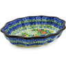 7-inch Stoneware Serving Bowl - Polmedia Polish Pottery H8003C