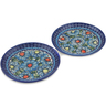 7-inch Stoneware Set of 2 Plates - Polmedia Polish Pottery H0652L