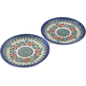 7-inch Stoneware Set of 2 Plates - Polmedia Polish Pottery H0653L