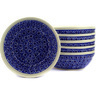 7-inch Stoneware Set of 6 Bowls - Polmedia Polish Pottery H3083E