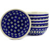 7-inch Stoneware Set of 6 Bowls - Polmedia Polish Pottery H3085E