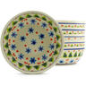 7-inch Stoneware Set of 6 Bowls - Polmedia Polish Pottery H3617J