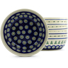 7-inch Stoneware Set of 6 Bowls - Polmedia Polish Pottery H4956J