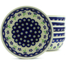 7-inch Stoneware Set of 6 Bowls - Polmedia Polish Pottery H5350J