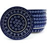 7-inch Stoneware Set of 6 Bowls - Polmedia Polish Pottery H5987I