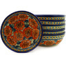 7-inch Stoneware Set of 6 Bowls - Polmedia Polish Pottery H6627E
