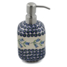 7-inch Stoneware Soap Dispenser - Polmedia Polish Pottery H6673K