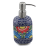 7-inch Stoneware Soap Dispenser - Polmedia Polish Pottery H6686K