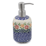 7-inch Stoneware Soap Dispenser - Polmedia Polish Pottery H6740K