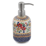 7-inch Stoneware Soap Dispenser - Polmedia Polish Pottery H6757K