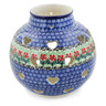 7-inch Stoneware Votive Candle Holder - Polmedia Polish Pottery H6964K
