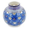 7-inch Stoneware Votive Candle Holder - Polmedia Polish Pottery H6968K