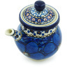 7 oz Stoneware Creamer with Lid - Polmedia Polish Pottery H5122H