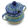 7 oz Stoneware Sugar Bowl - Polmedia Polish Pottery H0002J