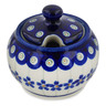7 oz Stoneware Sugar Bowl - Polmedia Polish Pottery H0610A
