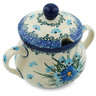 7 oz Stoneware Sugar Bowl - Polmedia Polish Pottery H0665I