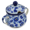 7 oz Stoneware Sugar Bowl - Polmedia Polish Pottery H1716L