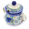 7 oz Stoneware Sugar Bowl - Polmedia Polish Pottery H2444J