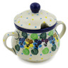 7 oz Stoneware Sugar Bowl - Polmedia Polish Pottery H3412K