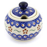 7 oz Stoneware Sugar Bowl - Polmedia Polish Pottery H4327J