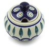 7 oz Stoneware Sugar Bowl - Polmedia Polish Pottery H4372J