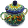 7 oz Stoneware Sugar Bowl - Polmedia Polish Pottery H4373F