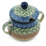 7 oz Stoneware Sugar Bowl - Polmedia Polish Pottery H6953C