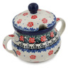 7 oz Stoneware Sugar Bowl - Polmedia Polish Pottery H9827K