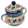 7 oz Stoneware Sugar Bowl - Polmedia Polish Pottery H9828K