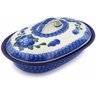 8-inch Stoneware Baker with Cover - Polmedia Polish Pottery H2618B