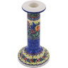 8-inch Stoneware Candle Holder - Polmedia Polish Pottery H0409G