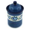 8-inch Stoneware Cookie Jar - Polmedia Polish Pottery H1332B