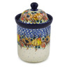 8-inch Stoneware Cookie Jar - Polmedia Polish Pottery H8226J